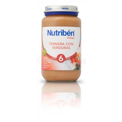 NUTRIBEN POTITO TERNERA CON VERDURAS, 250g