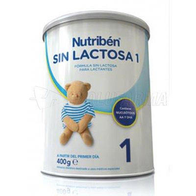 NUTRIBEN SIN LACTOSA 1, 400g