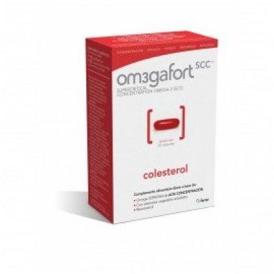 OM3GAFORT COLESTEROL 1400 MG 30 CAPSULAS