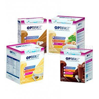 OPTIFAST BATIDO DE CHOCOLATE. 9 Sobres de 54 g