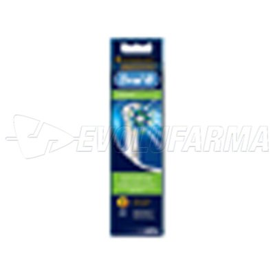 ORAL B CEPILLO DENTAL ELECTRICO RECAMBIO CROSS ACTION  3 CABEZALES