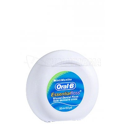 ORAL-B. HILO DENTAL SABOR MENTA. 50 m.