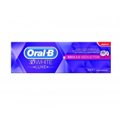 ORAL B PASTA 3DWHITE BRILLO SEDUCTOR 75 ML