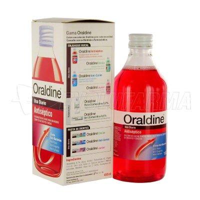 ORALDINE ANTISÉPTICO. Envase 400 ml.