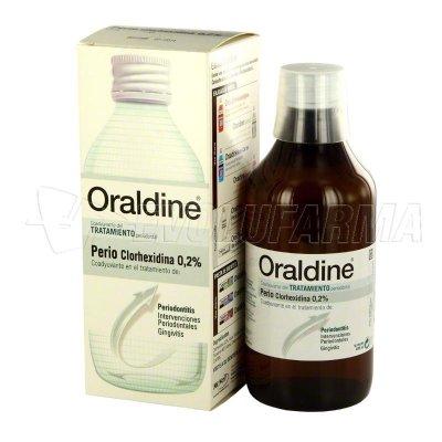 ORALDINE PERIO, COLUTORIO. Envase de 400 ml.