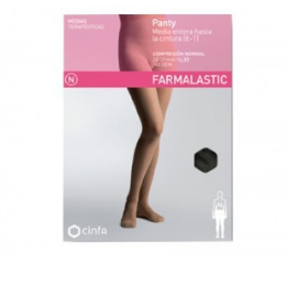 PANTY COMP NORMAL 140 DEN FARMALASTIC NEGRO T- MED
