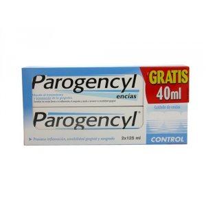 PAROGENCYL CONTROL PASTA DENTAL 125 ML 2 UNIDADES