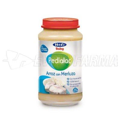 PEDIALAC TARRITOS ARROZ CON MERLUZA. Tarro de 250 g