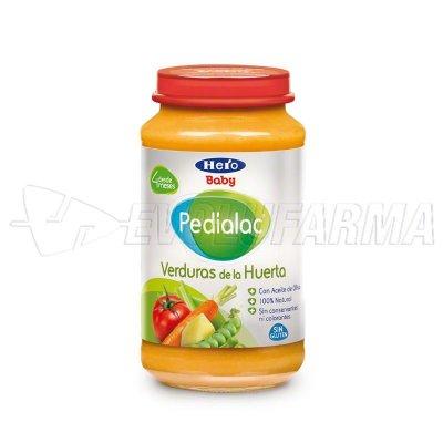 PEDIALAC TARRITOS VERDURAS DE LA HUERTA. Tarro de 250 g