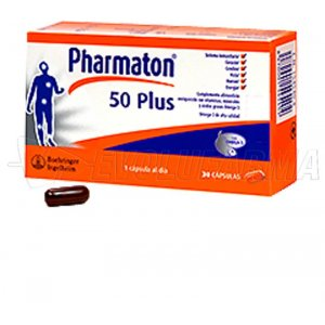 PHARMATON 50 PLUS. 60 cápsulas