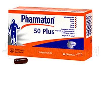 PHARMATON 50 PLUS. 60 cápsulas