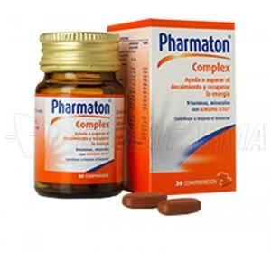 PHARMATON COMPLEX. 30 Comprimidos