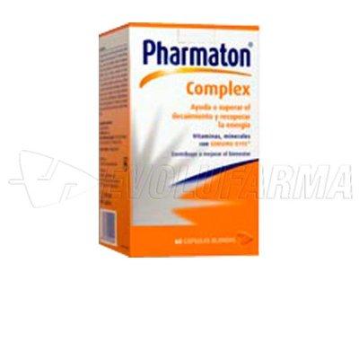PHARMATON COMPLEX. 90 cápsulas