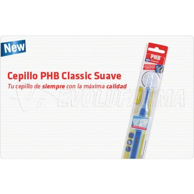 PHB SUAVE. Cepillo dental para adultos.
