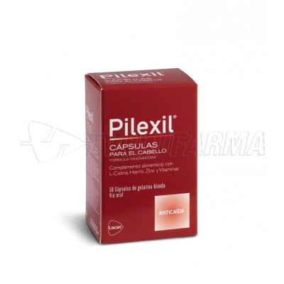 PILEXIL COMPLEMENTO NUTRICIONAL PARA CABELLO, 50 Caps