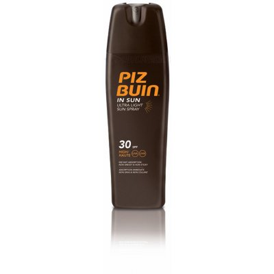 PIZ BUIN IN SUN ULTRA LIGHT SUN SPRAY SPF 30. 200 ml.