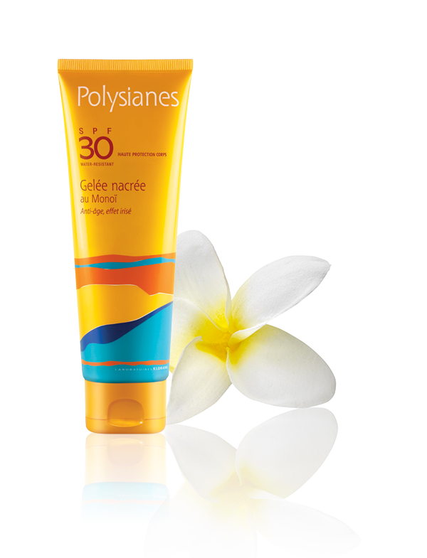 POLYSIANES F30 ANTIEDAD GEL NACARADO AL MONOI 125 ML