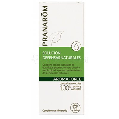 PRANAROM AROMAFORCE RESISTENCIA Y DEFENSAS NATURALES. 30 ml