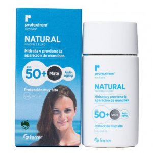 PROTEXTREM SUNCARE FPS 50+ NATURAL FLUID INVISIB