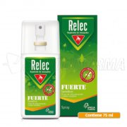 RELEC FUERTE SENSITIVE SPRAY REPELENTE MOSQUITOS. 75 ml