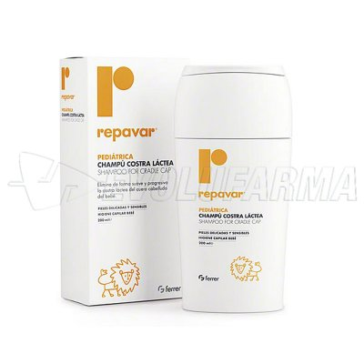 REPAVAR PEDIATRICA CHAMPU COSTRA LACTEA 150 ML
