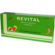 REVITAL GINSENG JALEA REAL VITAMINA C 20 AMPOLLAS BEBIBLES