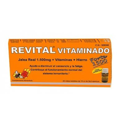 REVITAL VITAMINADO FORTE 20 AMPOLLAS BEBIBLES