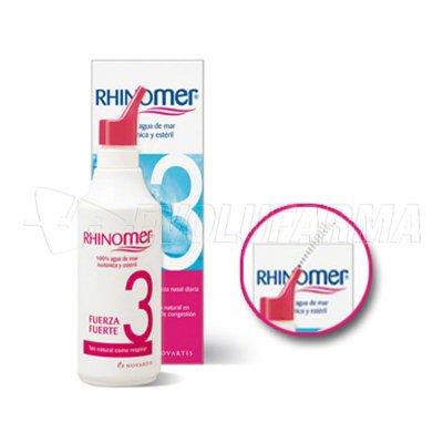 RHINOMER FUERZA 3 NEBULIZADOR. 180 ml