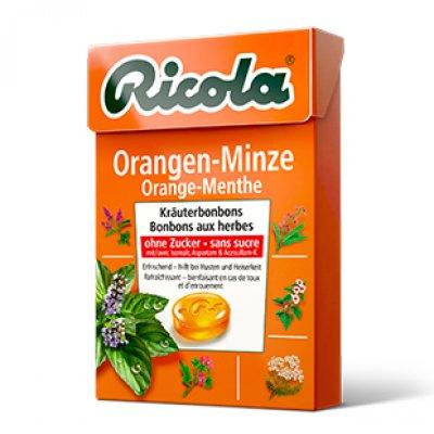 RICOLA CARAMELOS SIN AZUCAR NARANJA (50 g)
