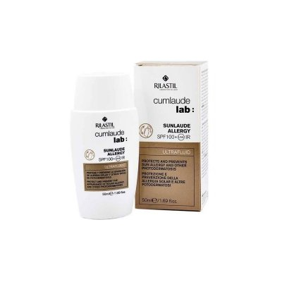 RILASTIL CUMLAUDE LAB: SUNLAUDE SPF 100+ ALLERGY  50 ML