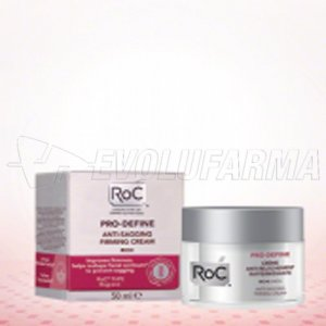 ROC PRO-DEFINE CREMA ANTIFLACIDEZ REAFIRMANTE- TEXTURA RICA. Envase 50ml.