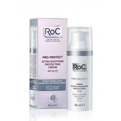 ROC PRO-PROTECT CREMA PROTECTORA EXTRA-RECONFORTANTE SPF50. Dosificador 50 ml