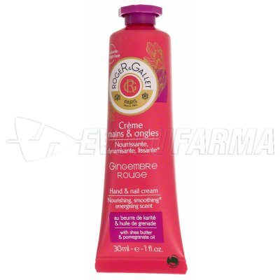 ROGER & GALLET CREMA DE MANOS GINGEMBRE ROUGE. 30ml
