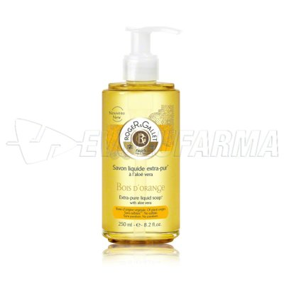 ROGER & GALLET JABON LIQUIDO PERFUMADO BOIS D'ORANGE. 250 ml