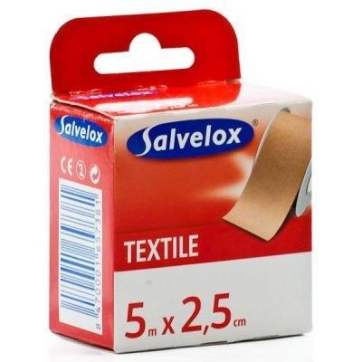 SALVELOX ESPARADRAPO TELA 5X2,5 (5 M X 2,5 CM) CARNE