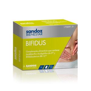 SANDOZ BIENESTAR BIFIDUS MONODOSIS 10 SOBRES