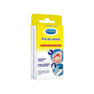 SCHOLL PIE DE ATLETA KIT COMPLETO LAPIZ SPRAY