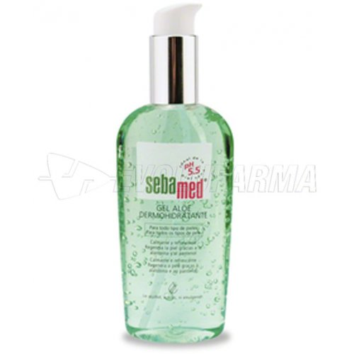 SEBAMED GEL ALOE DERMOHIDRATANTE. Envase de 200 ml.