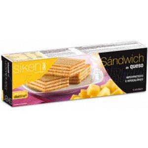 SIKEN DIET SANDWICH DE QUESO, 6 Unidade