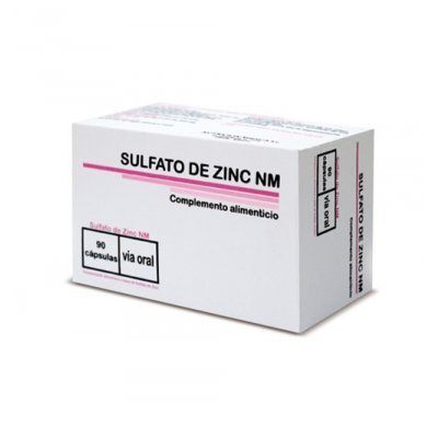 SULFATO DE ZINC NM 90 CAPS