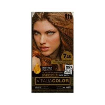 TH PHARMA VITALIA COLOR  7.46 RUBIO MEDIO ACOBRA