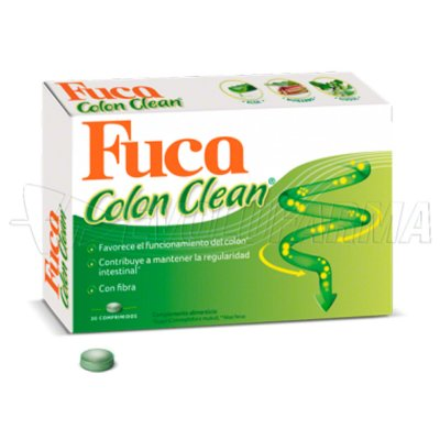 URIACH FUCA COLON CLEAN. 30 Comprimidos