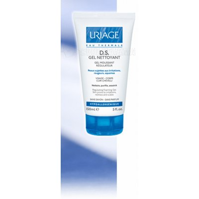 URIAGE D.S. GEL LIMPIADOR. 150 ml.