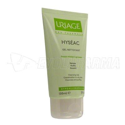 URIAGE. HYSEAC GEL LIMPIADOR. Tubo de 150 ml.