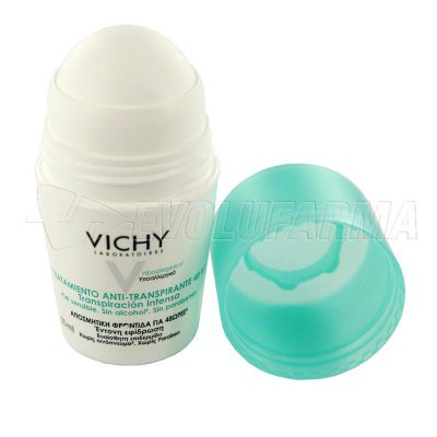 VICHY DESODORANTE REGULADOR 48 HORAS. Roll-On 50 ml.