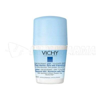 VICHY DESODORANTE SIN SALES 24 HORAS. Roll-On 50 ml.