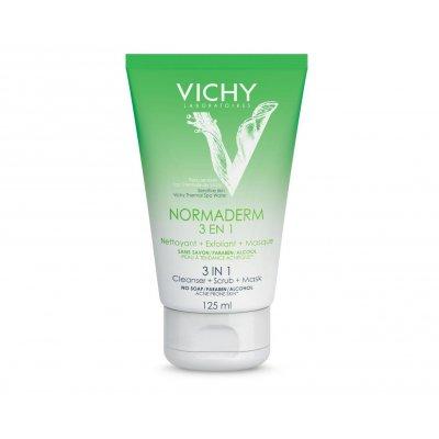VICHY NORMADERM 3 EN 1. Envase de 125 ml.