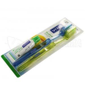 VITIS SUAVE CEPILLO DENTAL. Pack 2 uds duplo