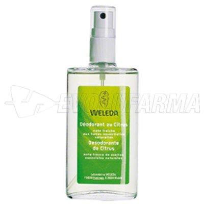 WELEDA DESODORANTE DE CITRUS, 100 ml con vaporizador sin aerosol